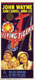 Movie Posters:War, Flying Tigers (Republic, 1942)....