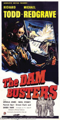 Movie Posters:War, Dam Busters (Associated British-Pathé Limited, 1954)....