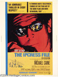 Movie Posters:Action, The Ipcress File (Rank, 1965)....