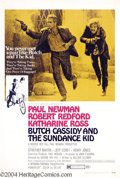 Movie Posters:Western, Butch Cassidy and the Sundance Kid (20th Century Fox, 1969)....