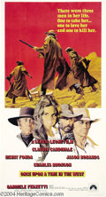 Movie Posters:Western, Once Upon a Time in the West (Paramount, 1969)....
