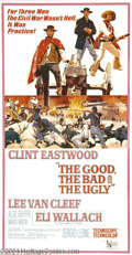Movie Posters:Western, Good, the Bad, and the Ugly, The (United Artists, 1968)....