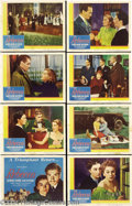 Movie Posters:Hitchcock, Rebecca (United Artists, R-1946).... (8 items)