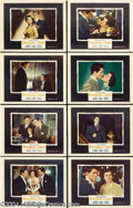Movie Posters:Hitchcock, Strangers on a Train (Warner Brothers, 1951).... (8 pieces)