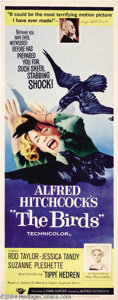 Movie Posters:Hitchcock, The Birds (Universal, 1963)....