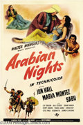 Movie Posters:Adventure, Arabian Nights (Universal, 1942)....