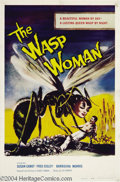 Movie Posters:Science Fiction, The Wasp Woman, (Film Group, Inc., 1959)....