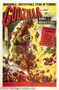 Movie Posters:Science Fiction, Godzilla (Toho, 1956)....