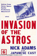 Movie Posters:Science Fiction, Invasion of the Astros (Toho, 1965)....