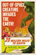 Movie Posters:Science Fiction, 20 Million Miles to Earth (Columbia, 1957)....