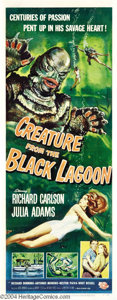 Movie Posters:Horror, Creature from the Black Lagoon (Universal International, 1954)....