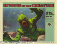 Revenge of the Creature (Universal, 1955).... (4 pieces)
