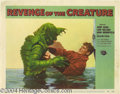 Movie Posters:Science Fiction, Revenge of the Creature (Universal, 1955).... (3 pieces)