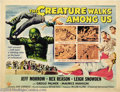 Movie Posters:Science Fiction, The Creature Walks Among Us (Universal International, 1956)....
