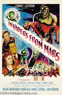 Invaders From Mars (20th Century Fox, R-1955)