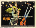 Movie Posters:Science Fiction, Astounding She Monster (American International, 1958)....