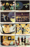 Movie Posters:Science Fiction, 2001: A Space Odyssey (MGM, 1968).... (8 items)