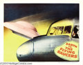 Movie Posters:Science Fiction, Earth Versus the Flying Saucers (Columbia, 1956).... (4 items)