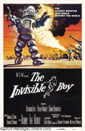 Movie Posters:Science Fiction, The Invisible Boy (MGM, 1957)....