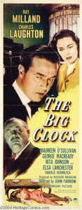 Movie Posters:Film Noir, The Big Clock (Paramount, 1948)....