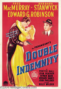Movie Posters:Film Noir, Double Indemnity (Paramount, 1944)....