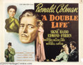 Movie Posters:Film Noir, A Double Life (Universal International, 1947).... (2 Movie Posters)