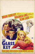 Movie Posters:Film Noir, The Glass Key (Paramount, 1942)....