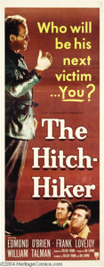 """Movie Posters:Film Noir, Hitch-Hiker, The (RKO, 1953). Insert (14"""" X 36""""). Ida Lupinodirects this taut thriller about a cold blooded hitchhiker who ..."""