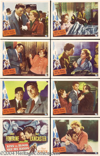 Kiss the Blood Off My Hands (Universal, 1948).... (8 items)