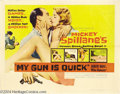 Movie Posters:Mystery, My Gun Is Quick (United Artists, 1957)....