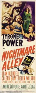 Movie Posters:Film Noir, Nightmare Alley (20th Century Fox, 1947)....