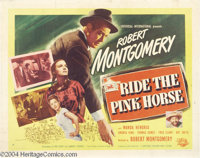 Ride the Pink Horse (Universal International, 1947).... (2 Movie Posters)