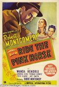 Movie Posters:Film Noir, Ride the Pink Horse (Universal International, 1947)....