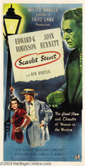 Movie Posters:Film Noir, Scarlet Street (Universal, 1945)....