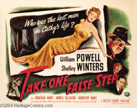 Take One False Step (Universal International, 1949)