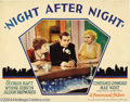 Movie Posters:Drama, Night After Night (Paramount, 1932).... (2 items)