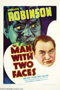 Movie Posters:Crime, The Man with Two Faces (Warner Brothers-First National, 1934)....