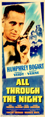 All Through the Night (Warner Brothers, 1942)