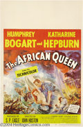 Movie Posters:Drama, The African Queen (United Artists, 1952)....