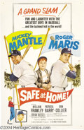 Movie Posters:Sports, Safe at Home (Columbia, 1962)....