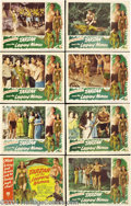 Movie Posters:Action, Tarzan and the Leopard Woman (RKO, 1946).... (8 items)