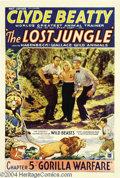 Movie Posters:Adventure, The Lost Jungle (Mascot, 1934)....