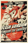 Movie Posters:Serial, Flash Gordon Conquers the Universe (Universal, 1940)....