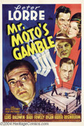Movie Posters:Mystery, Mr. Moto's Gamble (20th Century Fox, 1938)....