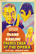 Movie Posters:Mystery, Charlie Chan at the Opera (20th Century Fox, 1936)....