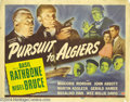 Movie Posters:Mystery, Pursuit to Algiers (Universal, 1945).... (2 items)