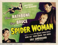 Movie Posters:Mystery, The Spider Woman (Universal, 1944)....
