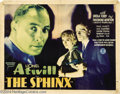 Movie Posters:Mystery, The Sphinx (Monogram, 1933)....
