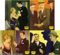 Movie Posters:Mystery, The Benson Murder Case (Paramount, 1930).... (4 items)