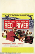 Movie Posters:Western, Red River (United Artists, 1948)....